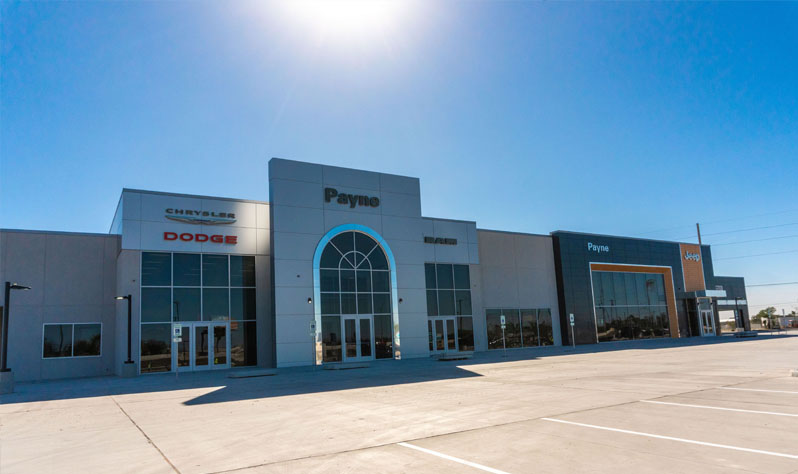 Payne Edinburg Chrysler, Dodge, Jeep, RAM